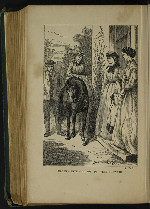 Illustration on Page 242b of the [1879] Milner & Sowerby Reprint Depicting Ellen Meeting the Brownie