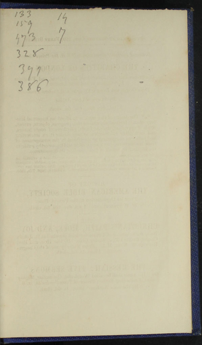 Recto of Back Flyleaf of Volume 2 of the 1852 Sampson Low Reprint