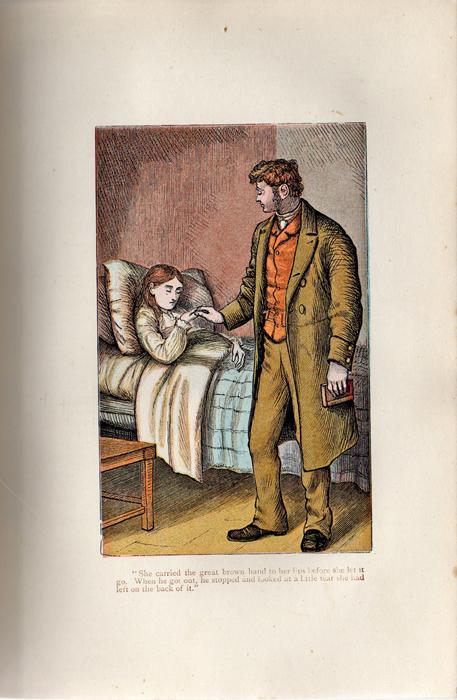 Illustration on Page 212a of the [1899] George Routledge & Sons, Ltd. Reprint Depicting Mr. Van Brunt Visiting Ellen at her Sickbed