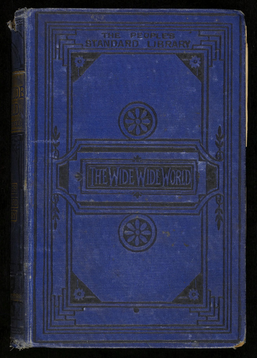 "Front Cover of the [1884] Ward, Lock & Co. ""People's Standard Library, Complete Edition"" Reprint"