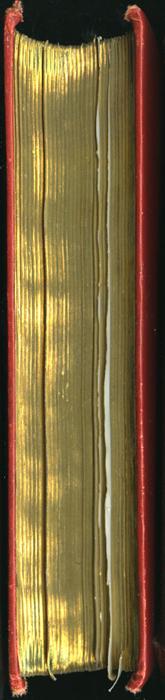 Fore Edge of the [1896] Walter Scott, Ltd. Reprint