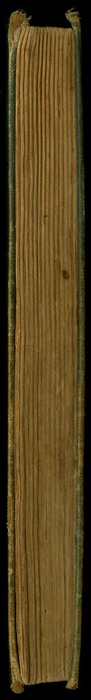 """Fore Edge of the [1892] Ward, Lock & Co. """"Pansy Series"""" Reprint"""
