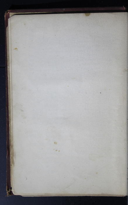 """Verso of Last Page of Table of Contents of the 1886 James Nisbet & Co. """"New Edition"""" Reprint"""