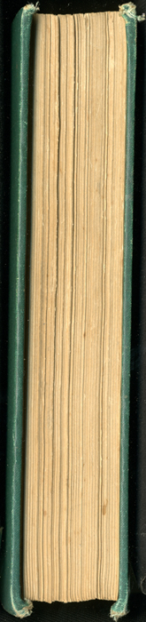 Fore Edge of the [1899] George Routledge & Sons, Ltd. Reprint Depicting Ellen and M. Muller