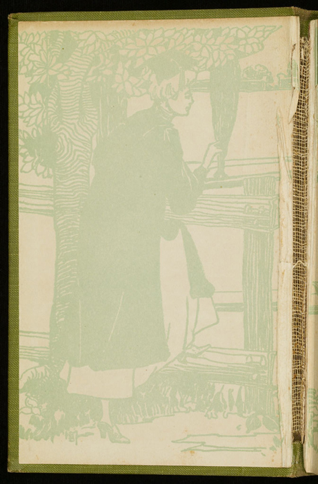 Front Pastedown of the [1915] M. A. Donohue & Co. Reprint