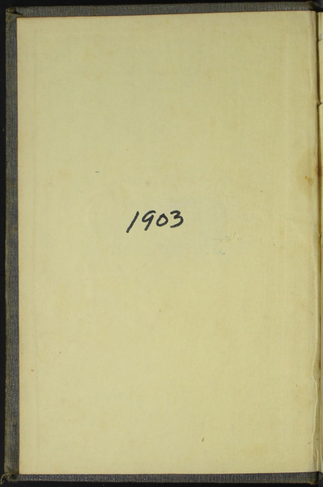Front  Pastedown of Volume 2 of the 1851 George P. Putnam First Edition, Version 3