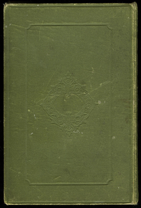 """Back Cover of the [1885] Ward, Lock & Co. """"Home Treasure Library, Complete Edition"""" Reprint"""