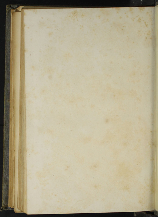 Verso of Back Flyleaf of Volume 2 of the 1851 George P. Putnam First Edition, Version 3