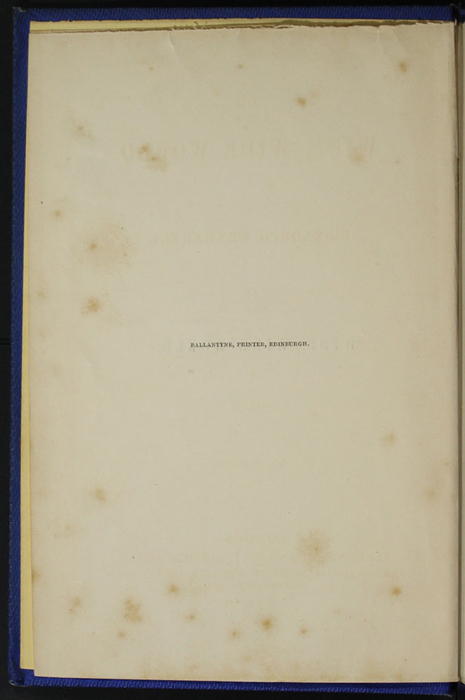 "Colophon for Volume 2 of the 1852 James Nisbet, Sampson Low, Hamilton, Adams & Co. ""Second Edition"" Reprint"