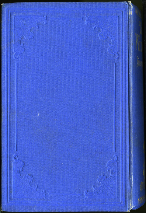 Back Cover of the 1852 T. Nelson & Sons Reprint, Version 2