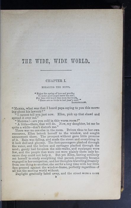 First Page of Text in the 1879 Li-Quor Tea Co. Reprint
