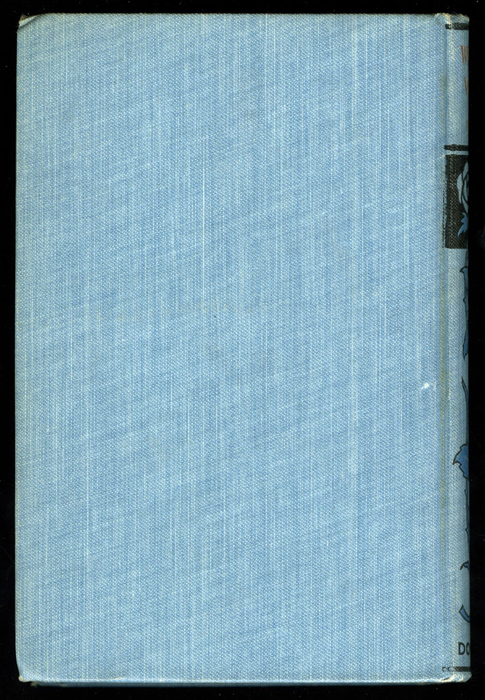 """Back Cover of the [1902] M. A. Donohue & Co. """"Snug Corner Series"""" Reprint"""