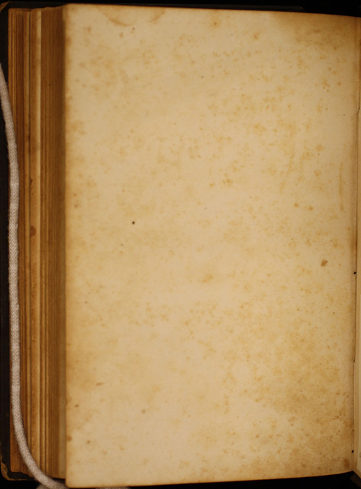 Verso of Back Flyleaf of Volume 2 of the 1852 George P. Putnam 16th Edition, Version 1