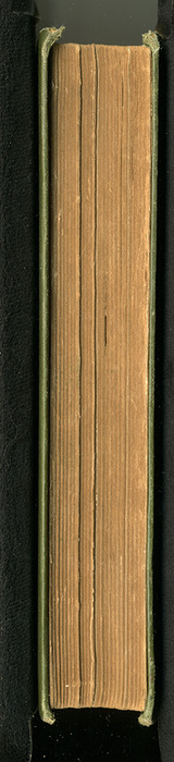 Fore Edge of the [1883] John F Shaw & Co. Reprint