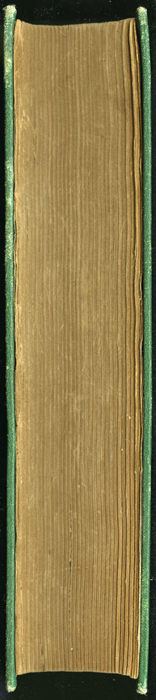 """Fore Edge of the 1880 J. B. Lippincott & Co. """"New Edition"""" Reprint"""