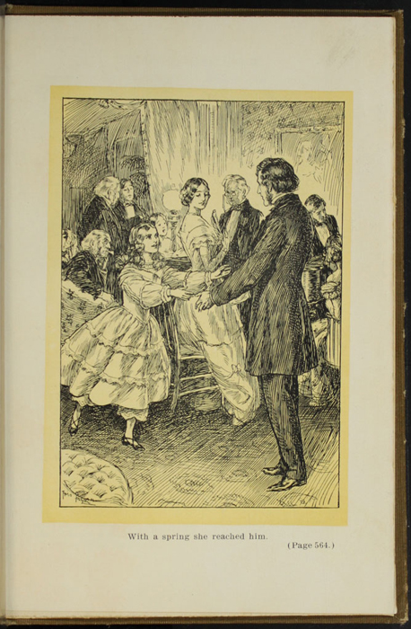 Illustration on Page 564a of the [1907] Grosset & Dunlap Reprint Depicting Ellen Reuniting with John in Scotland
