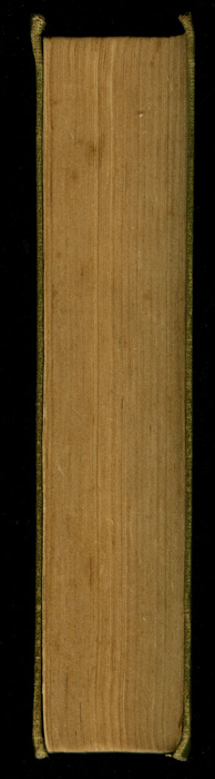 Fore Edge of the [1915] M. A. Donohue & Co. Reprint