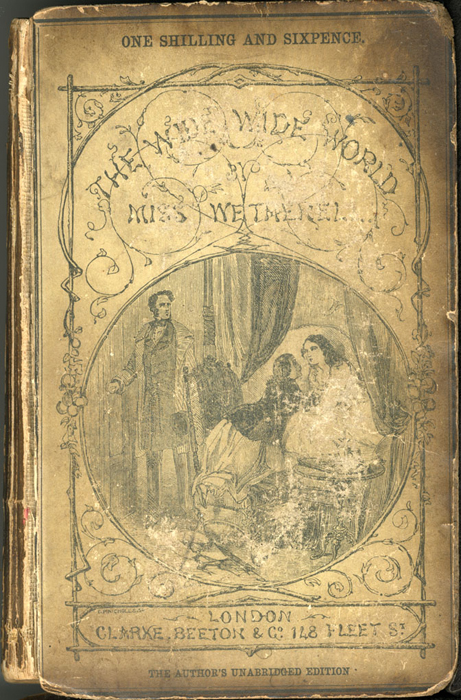 Front Cover of the [1853] Clarke, Beeton, & Co. Reprint, Version 1