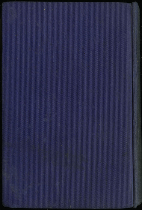 "Back Cover of the [1922] T. Nelson & Sons ""The Nelson Classics"" Reprint"