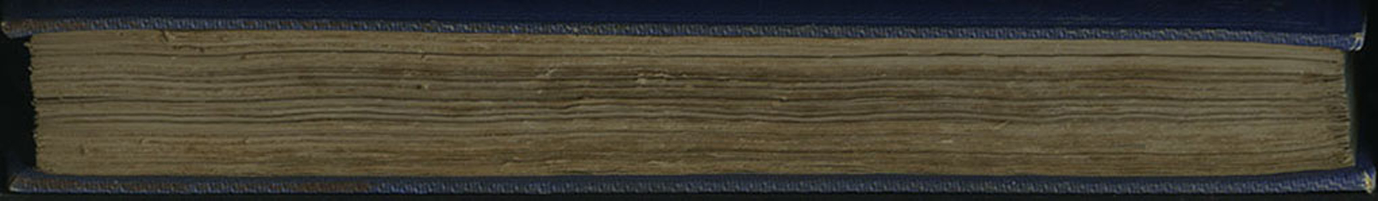 "Fore Edge of Volume 1 of the 1852 James Nisbet, Sampson Low, Hamilton, Adams & Co. ""Second Edition"" Reprint"