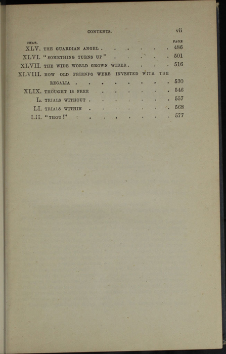 "Third Page of the Table of Contents for 1887 James Nisbet & Co. ""New ed. Golden Ladder Series"" Reprint"