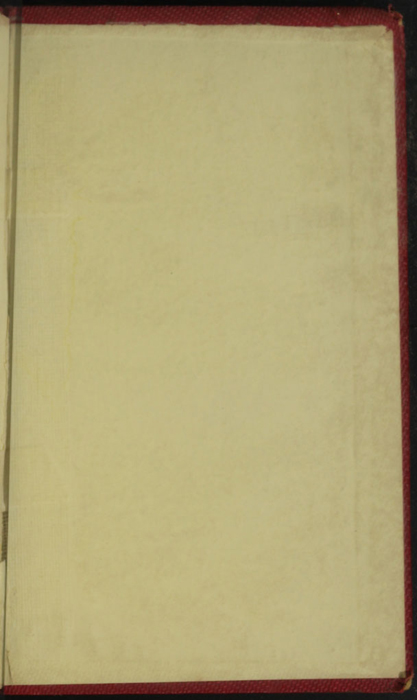 Back Pastedown of the 1852 T. Nelson & Sons Reprint, Version 1