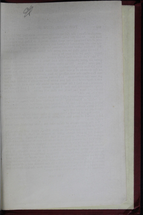 Recto of Back Flyleaf of the [1904] Hutchinson & Co. Reprint