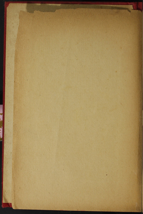 Front-Left End Paper of the [1908] R. E. King & Co Ltd Edition