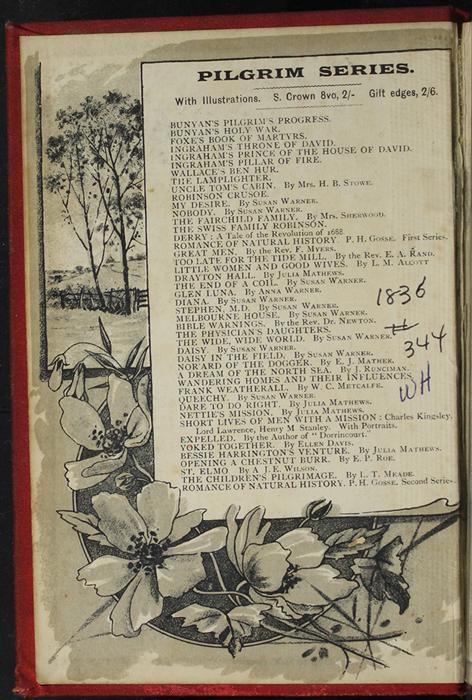 Front Pastedown of [1893] James Nisbet & Co. Reprint, Version 2