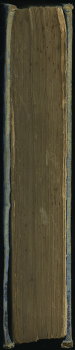 Fore Edge of [1890] Frederick Warne & Co. Reprint