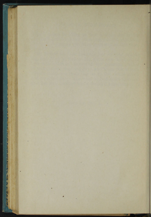 Verso of First Back Flyleaf of Volume 1 of the [1902] Home Book Co. Reprint, Version 2