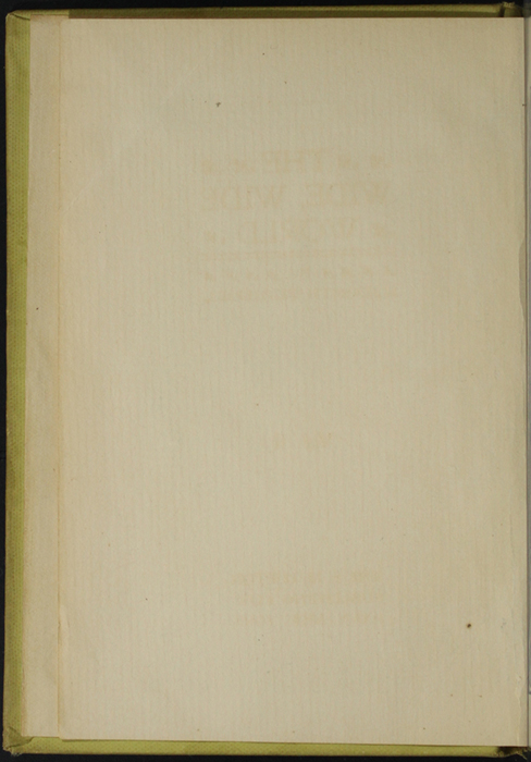 Verso of Front Flyleaf of Volume 1 of the [1898] F. M. Lupton Publishing Co. Reprint
