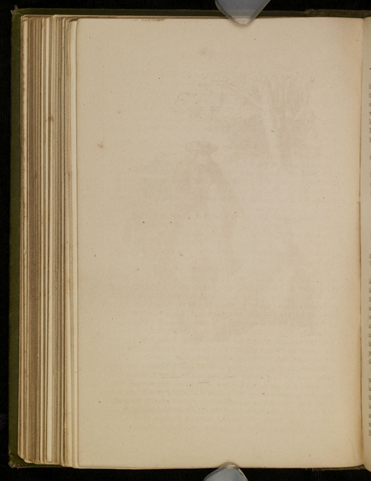 """Verso of Illustration of the [1885] Ward, Lock & Co. """"Home Treasure Library Complete ed."""" Reprint, Version 1"""
