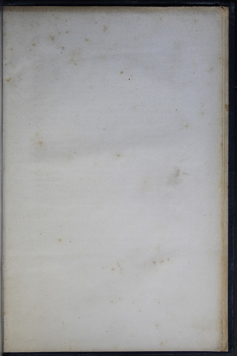 Recto of Back Flyleaf of Volume 1 of the 1852 George P. Putnam 16th Edition, Version 2