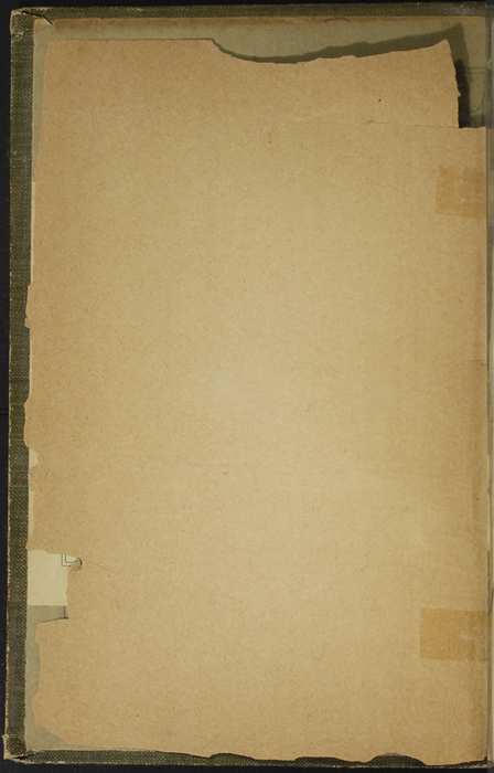 Verso of Front Flyleaf of the [1907] Collins' Clear-Type Press Reprint