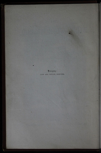 "Front Colophon for the 1883 James Nisbet & Co. ""New Edition"" Reprint"