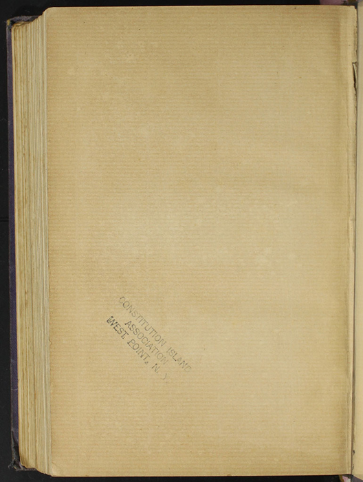 "Verso of Back Flyleaf of the [1904] The Walter Scott Publishing Co. Ltd. ""Complete ed."" Reprint"