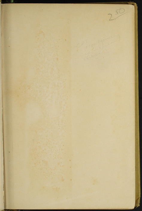 Recto of Back Endpaper of the [1907] Grosset & Dunlap Reprint, Version 3