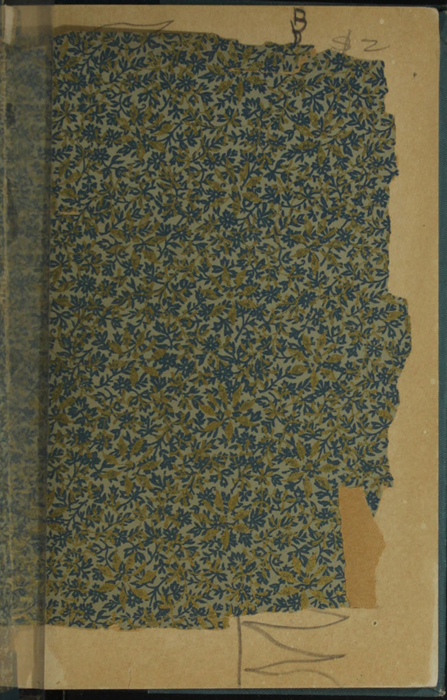 Recto of Front Endpaper of Volume 1 of the [1902] Home Book Co. Reprint, Version 3