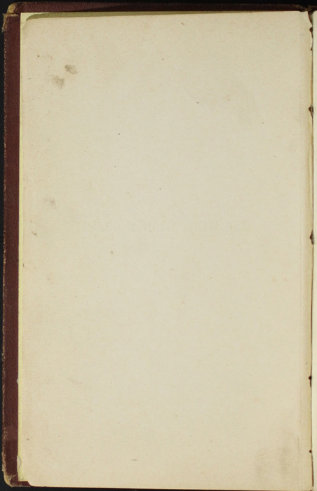 Verso of Title Page to the [1878] Milner & Co. Reprint, Version 1