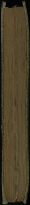 Fore Edge of Volume 1 of the 1851 George P. Putnam First Edition<br /><br />