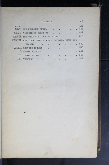 Third Page of the Table of Contents of the 1879 Li-Quor Tea Co. Reprint
