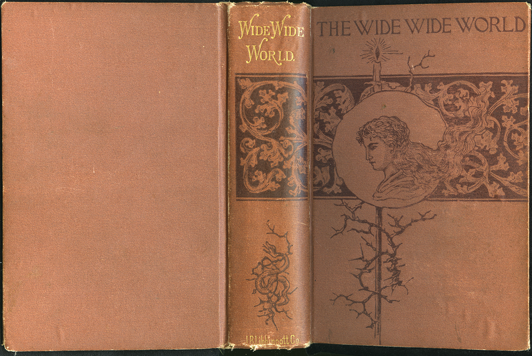 """Full Cover of the 1891 J.B. Lippincott Co. """"New Edition"""" Reprint"""
