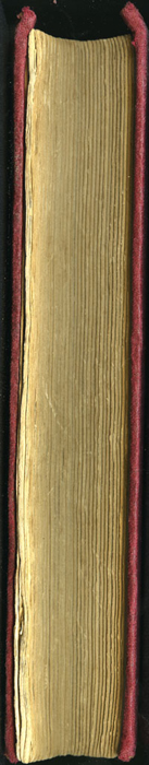 Fore Edge of the [1897] Bliss, Sands & Co. Reprint