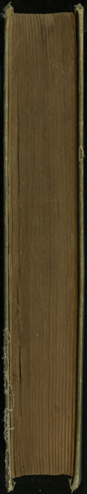 "Fore Edge of the [1900] Donohue Brothers ""Completed and Unabridged Ed."" Reprint"