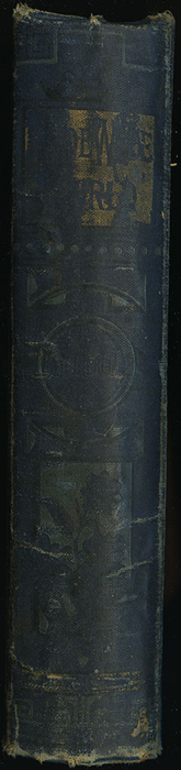 Spine of [1890] Frederick Warne & Co. Reprint