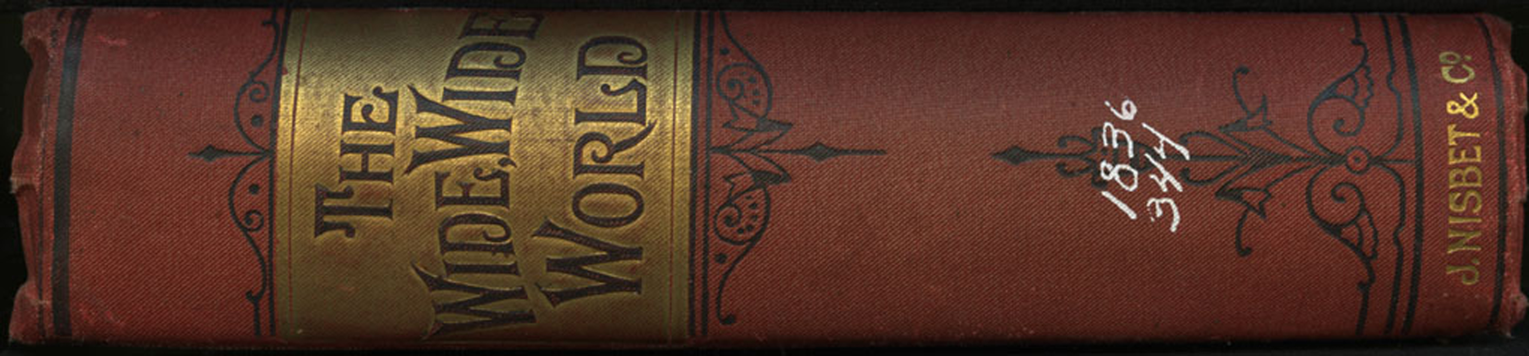 Spine of the [1893] James Nisbet Edition