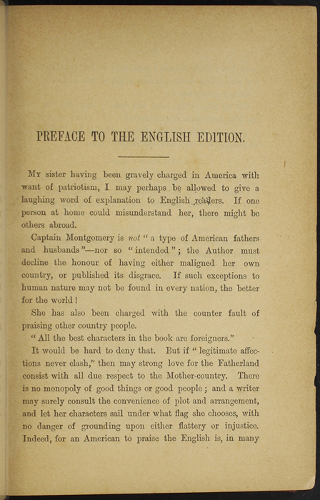First Page of the Preface to [1893] James Nisbet & Co. Reprint, Version 2