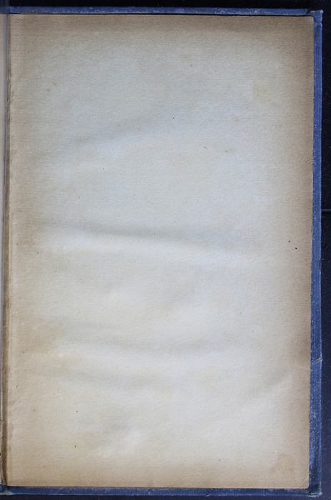 "Recto of First Back Flyleaf of the [1910] Collins' Clear-Type Press ""The Challenge Series"" Reprint"