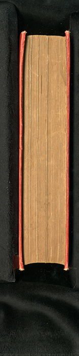 "Fore Edge of the [1896] S. W. Partridge & Co. ""Marigold Series"" Reprint"